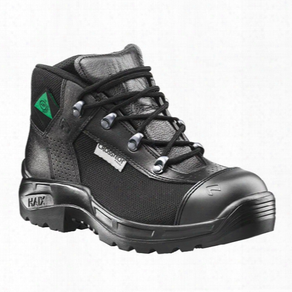 Haix Womens Airpower R7 Station Boots, Black, 10m - Black - Female - Included