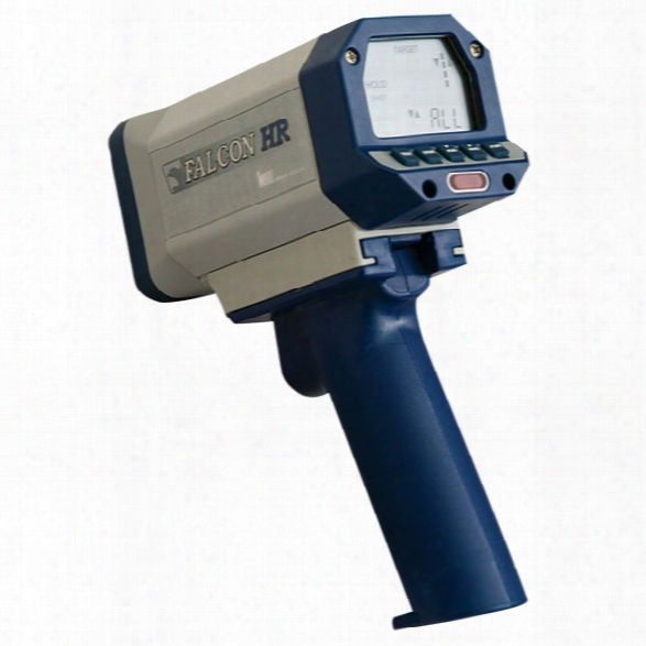 Kustom Signals Falcon Hr Hand-held Radar, Moving & Stationary Modes W/ Corded Handle & Wireless Remote - Male - Excluded