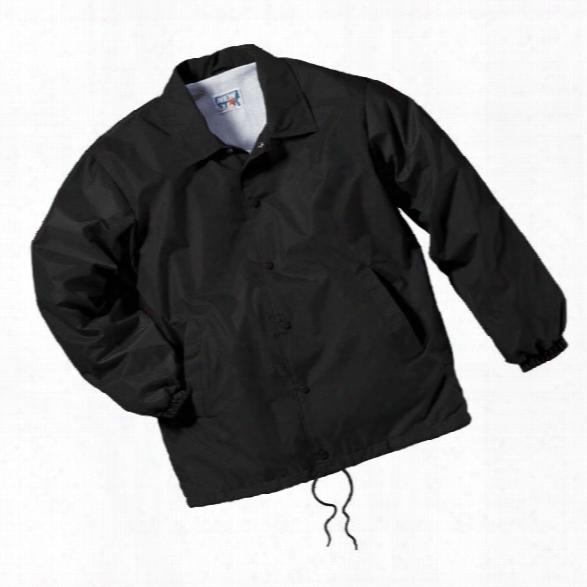 Liberty Uniform Coaches Jacket, Xx-large, Black - Royal - Male - Included