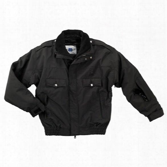 Liberty Uniform Millennium Police Jacket, Black, 2xl Long - Black - Male - Included