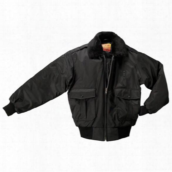 Liberty Uniform Police Bomber Jacket, Black, 2xl - Black - Male - Included