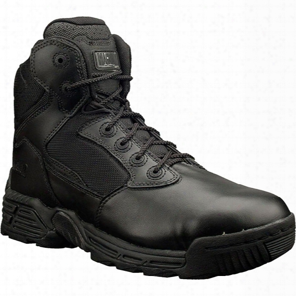 "Magnum 6"" Stealth Force Side Zip Boot, Black, 10.5m - Silver - Male - Included"
