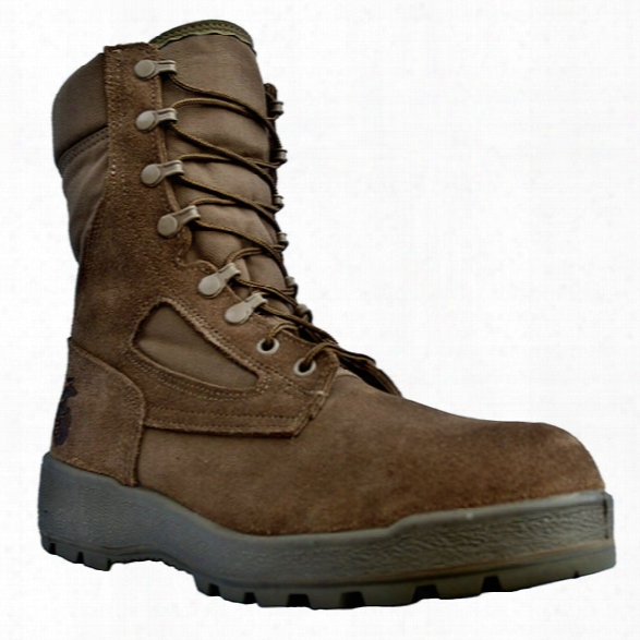 Mcrae Footwear Mil-spec Usmc 8-inch Hot Weather Boot, Mojave, 10.5r - Marine - Male - Included