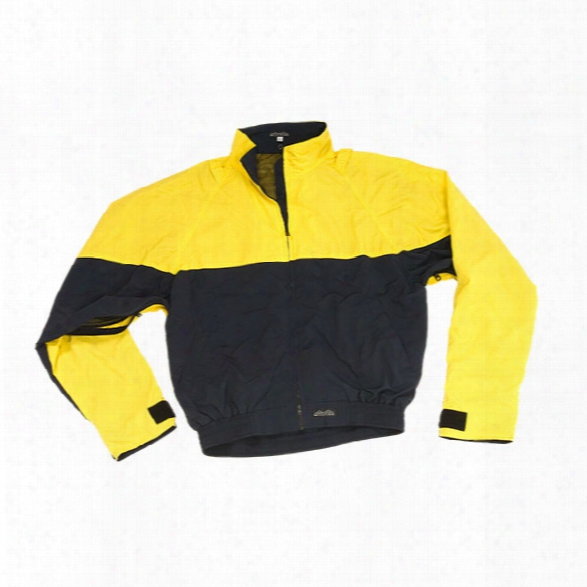 Mocean Waterproof Barrier Bike Patrol Jacket, Yellow And Police Navy, Xx-large - Yellow - Male - Included