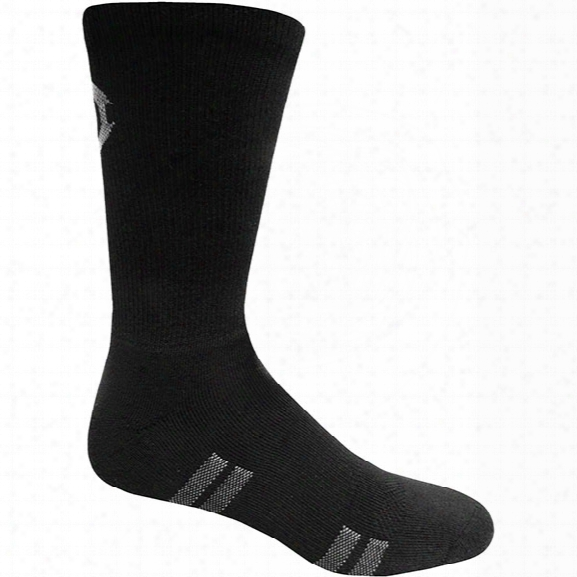 Original S.w..t. Tactical Crew Plus Socks, Black, Large - Black - Male - Included