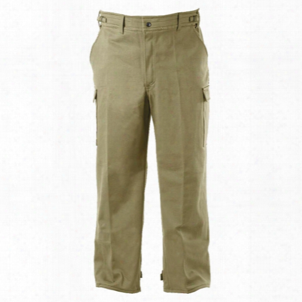 Pgi Fireline Double Duty Bdu Pant, Advance, 7 Oz, Tan, 2x, Regular - Green - Male - Included