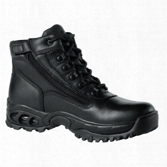 "Ridge Outdoors Air-tac 6"" Sidezip Waterproof Boot, Black, 10.5m - Black - Male - Included"
