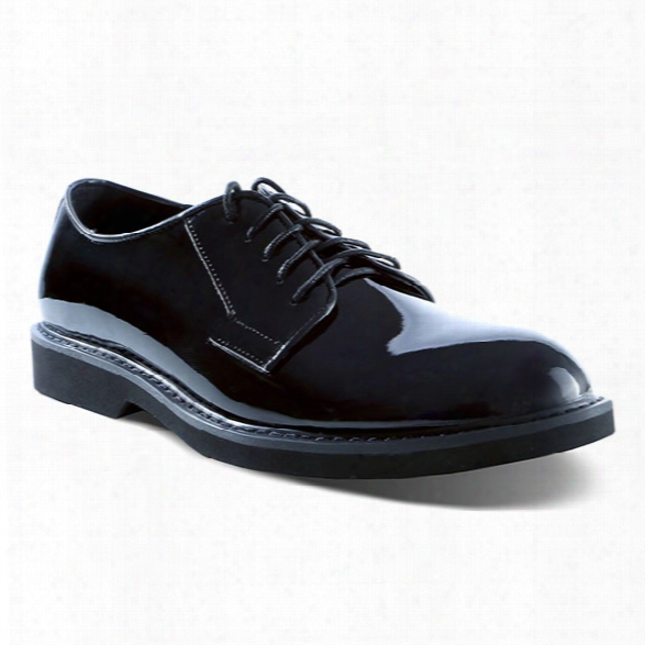 Ridge Outdoors Oxford Lite High Gloss Shoe, Black, 10.5r - Black - Male - Included