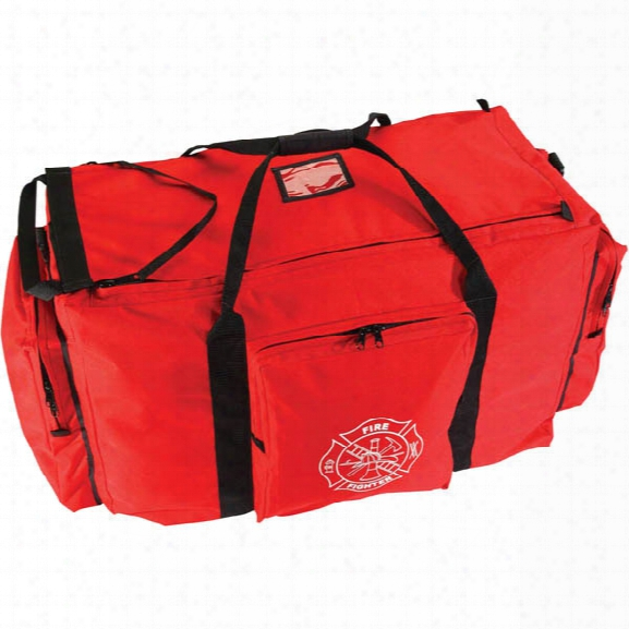 Seco Jumbo Turnout Bag, Red/black - Clear - Unisex - Included