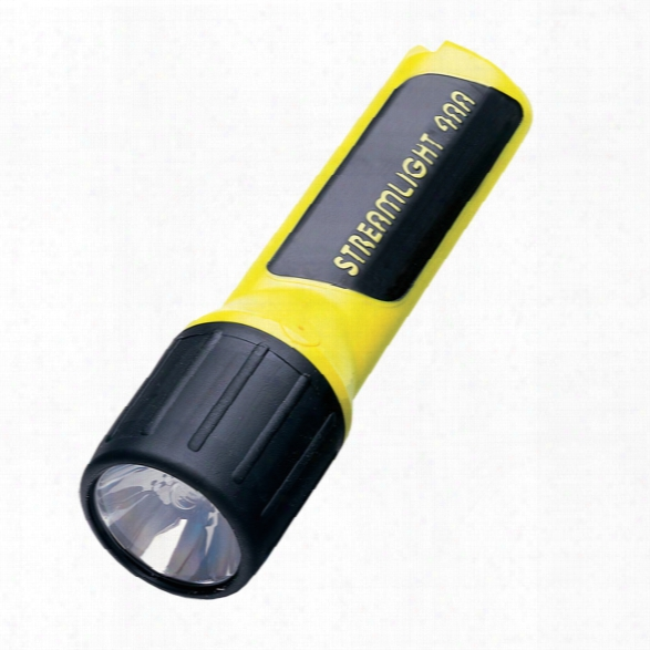 Streamlight 4aa Compact Light With Xenon Bulb, Yellow - Yellow - Unisex - Included