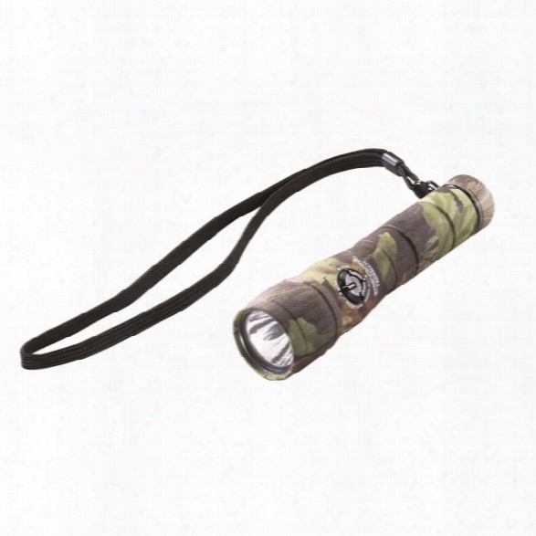 Streamlight Buckmasters® Packmate® With Lithium Batteries. Blister Packaged. Camo With Green Leds - Green - Male - Included