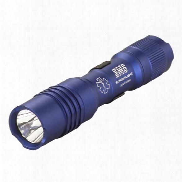 Streamlight Protac Ems Led Flashlight, 1-aa, Holster, Hi/lo/strobe - Male - Included