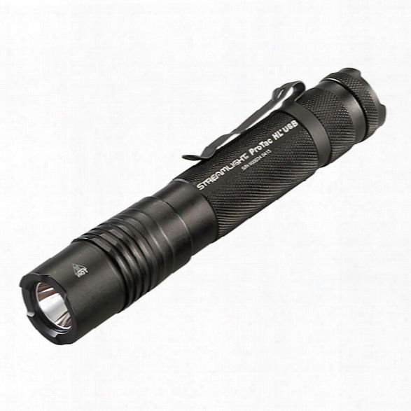 Streamlight Protac Hl® Usb Rechargeable Professional Tactical Light W/ Usb Cord Only, No Charger - Male - Included