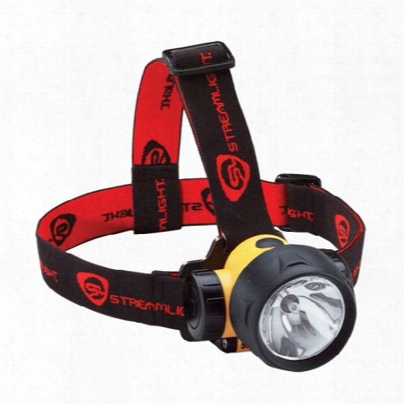 Streamlight Septor Headlamp With 7 Ultra Bright Led's, 3-aaa, Yellow - Yellow - Male - Included