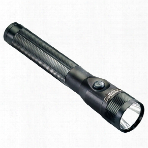 Streamlight Stinger Dual-switch Led Rechargeable Flashlight W/ Ac Steady Charger - Male - Included