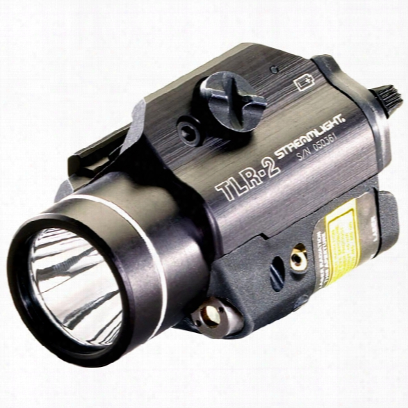 Streamlight Tl-r2 Weapon Mounted Lux Light W/ Laser Sight - Male - Included