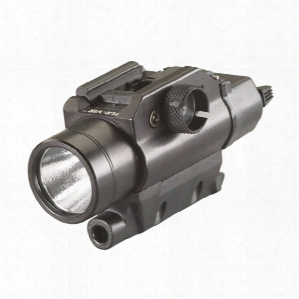 Streamlight Tlr-vir Visible Led With Ir Laser Sight, Includes Rail Locating Keys, Lithium Battery - White - Unisex - Included