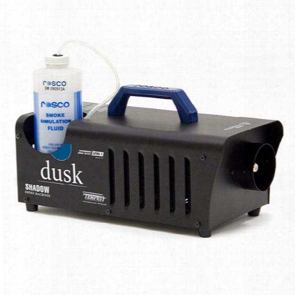 Tempest Technology Shadow Dusk Smoke Machine, Shadow Dusk, 1 L/h, 1 Liter - Smoke - Unisex - Included