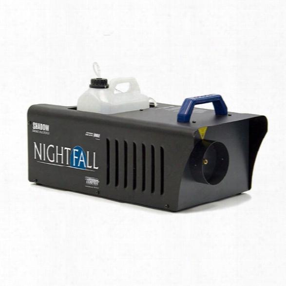 Tempest Technology Shadow Nightfall Smoke Machine, Nightfall, 3.6 L/h, 4 Liters - Smoke - Unisex - Included