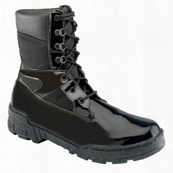 "Thorogood Commando Plus 8"" Boot, Black, 10.5 Medium - Black - Male - Included"