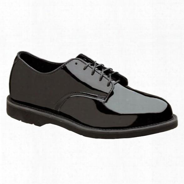 Thorogood Poromeric Oxford, High Gloss Black, 10.5m - Black - Male - Included