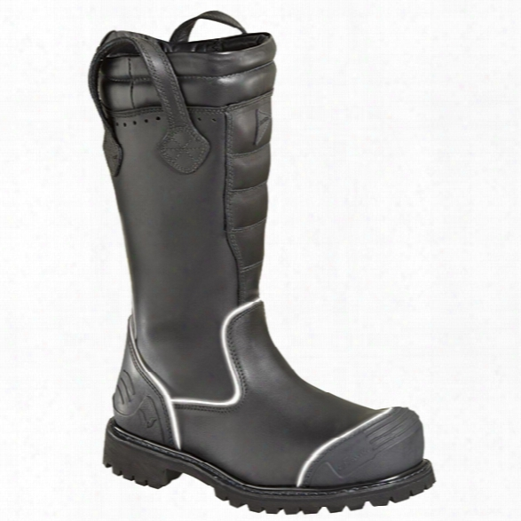 """Thorogood Women's 14"""" Power Hv Structural Bunker Boot, Black, 10m - Black - Male - Included"""