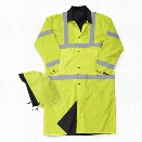 Liberty Uniform Reversible Raincoat, Black & Yellow, 2XL - Black - male - Included