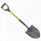 "Nupla 27"" Round Point Fire Shovel, D Grip, 11-1/2""L x 9""W - male - Excluded"