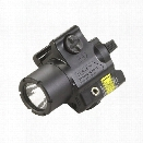 Streamlight TLR-4 Compact Rail Mounted Tactical Light with Laser Sight - red - male - Included