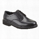 Thorogood Classic Leather Academy Oxford Dual Gender Shoe, Black, 10.5M - Black - male - Included