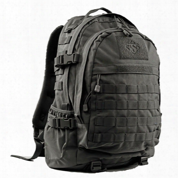 Tru-spec Elite 3 Day Backpack, Black - Black - Male - Included