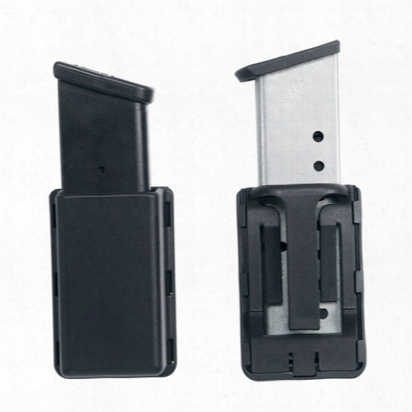Uncle Mikes Single Mag Case, Large Double Stack, Kydex, 10mm-.45 Caliber - Unisex - Included