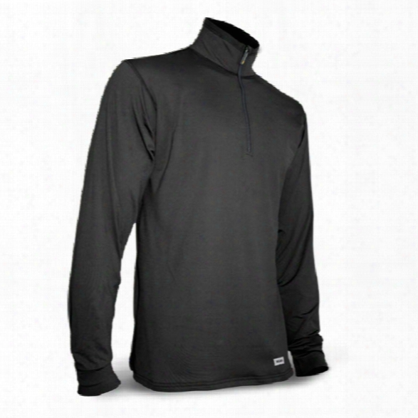 Xgo Phase 4 Tactical Ls 1/4 Zip Mock, Black, X-large - Black - Male - Included