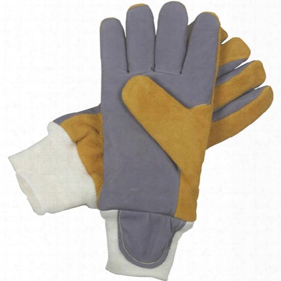 American Firewear Fire Mate Fire Gloves, Kangaroo & Elkskin W/ Crosstech Barrier, Wristlet, 2x - Unisex - Included