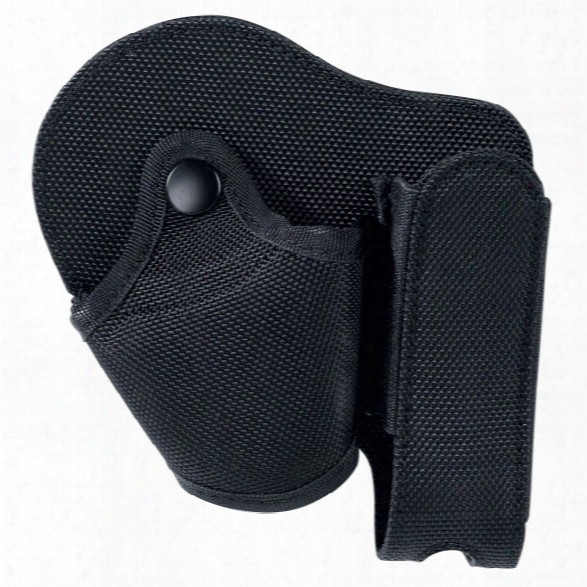 Asp Combo Case, Black, Fits 16in/21in Baton Or Triad Flashlight And Handcuffs - Black - Unisex - Included
