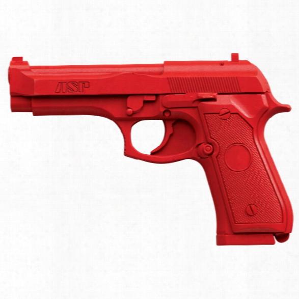 Asp Red Gun, Beretta 96d - Red - Male - Included