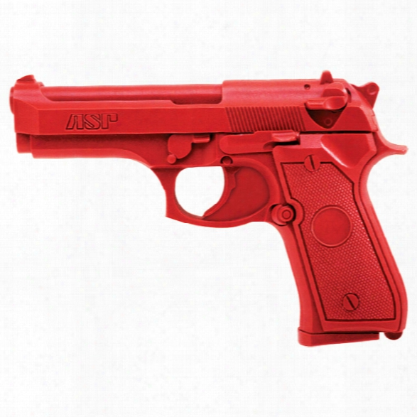 Asp Red Gun, Beretta Compact - Red - Male - Included