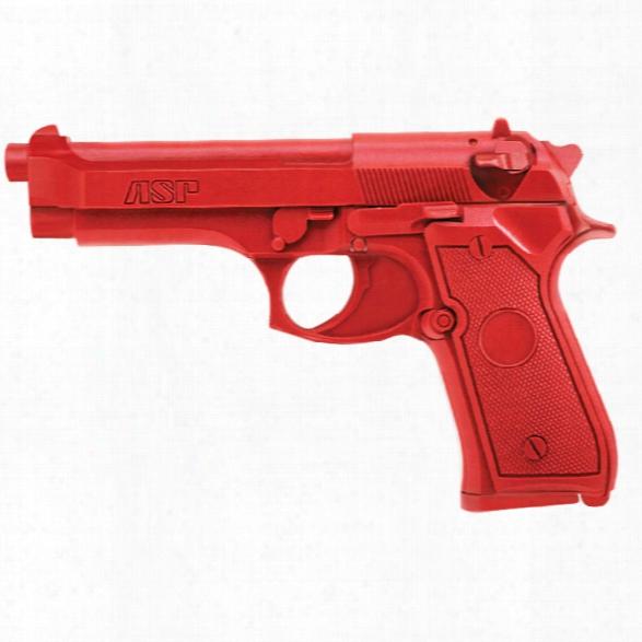 Asp Red Gun, Beretta - Red - Male - Included