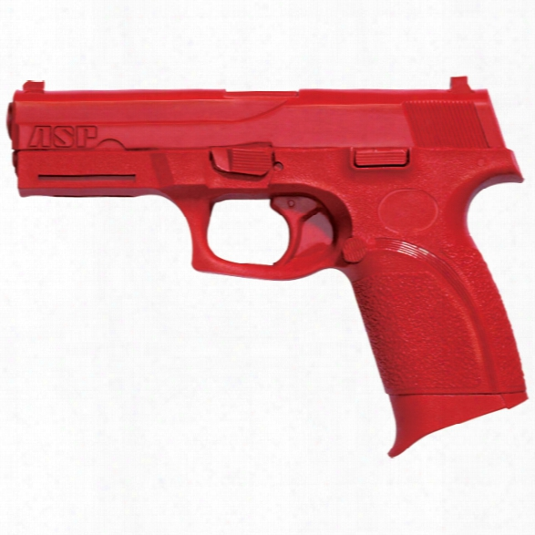 Asp Red Gun, Fn Forty-nine - Red - Male - Included