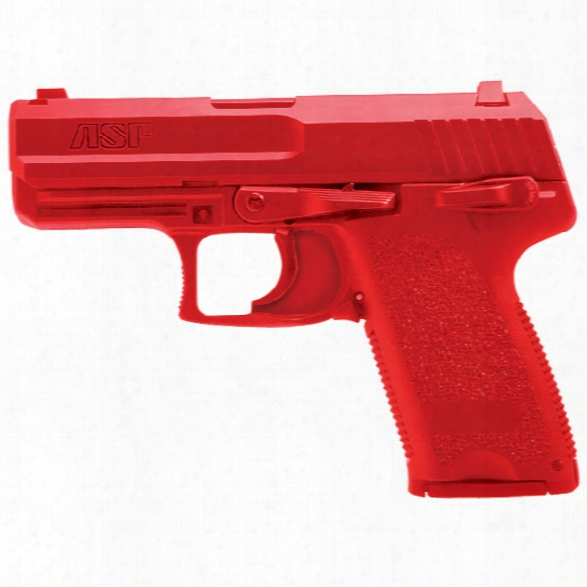 Asp Red Gun, H&k Usp Compact - Red - Male - Included