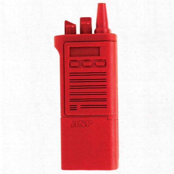 Asp Red Gun, Motorola Radio - Red - Male - Included