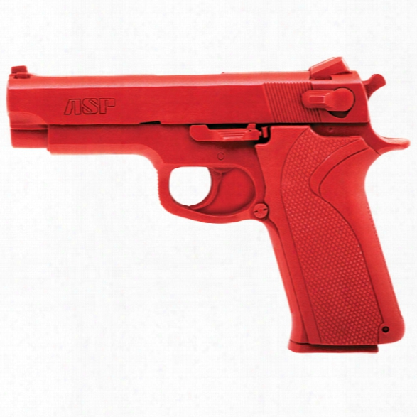 Asp Red Gun, S&w 10mm/ .45 - Red - Male - Included