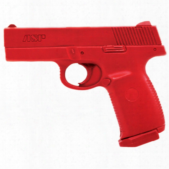 Asp Red Gun, S&w Sigma Compact - Red - Male - Included