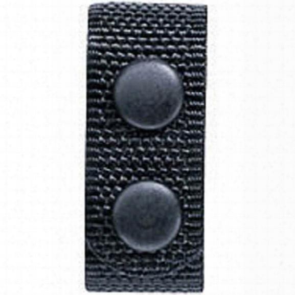 Bianchi (4) Accumold Belt Keepers, Nylon, Black, W/hook & Loop - Black - Unisex - Included