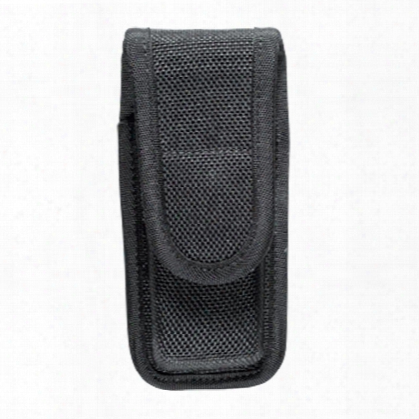 Bianchi 7303 Mag Pouch Closed Top Nylon, Black, Sig P230/p232, Walther Pp/ppl/ppk-s - Black - Male - Included