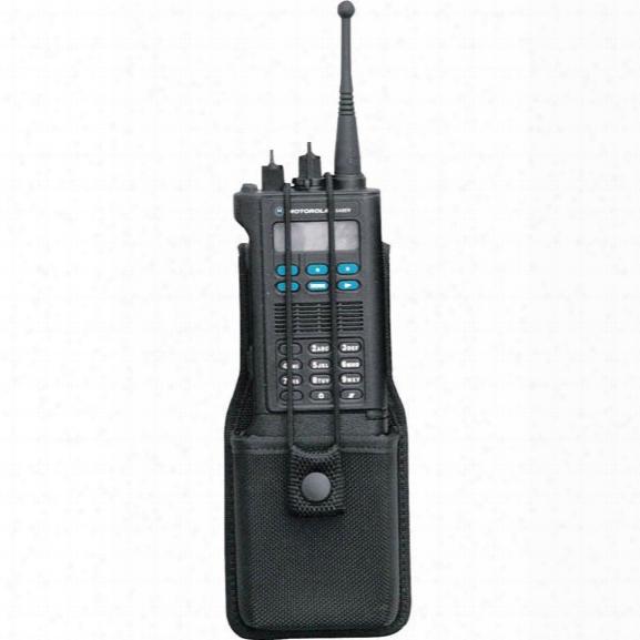 Bianchi 7314s Accmold Universal Slimline Radio Holder W/ Swivel, Nylon, Black - Black - Male - Included