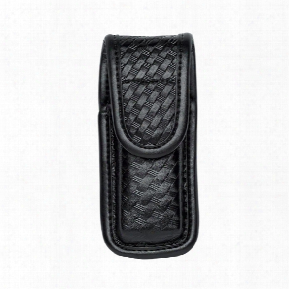 Bianchi 7903 Mag/knife Pouch Closed Top, Plain Black For H&k P7-m8, Ruger P90, S&w 3913/3914/4506, Sig P220/p2225/p239, Springfield Trp Operator - Black - Unisex