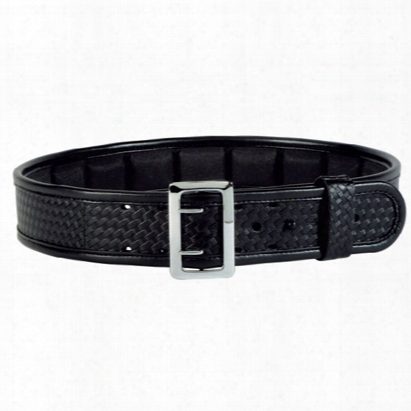 Bianchi 7965 Ergotek Sam Browne Belt, Hi-gloss, Chrome Buckle, 34-36 - Brown - Unisex - Included
