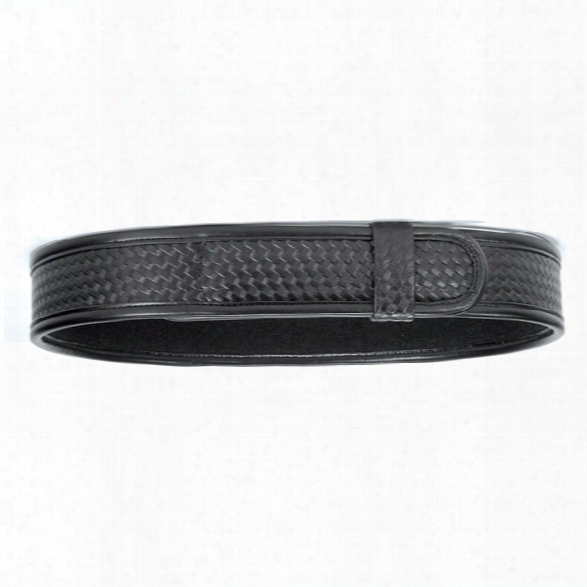 Bianchi 7970 Buckleless Duty Belt, Plain Black, 26-28 - Bla Ck - Male - Included