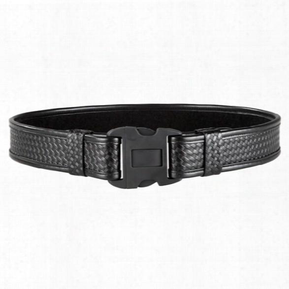 Bianchi 7980 Duty Belt, Plain Black, X-small, 24-28 - Black - Unisex - Included